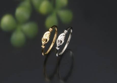 今日からの結婚指輪。