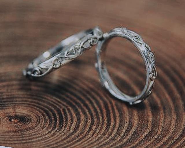 今日と明日と結婚指輪。