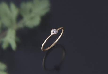 a simple engagement ring